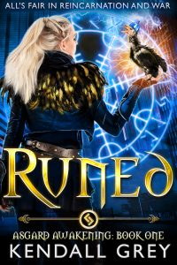 Book cover of RUNED